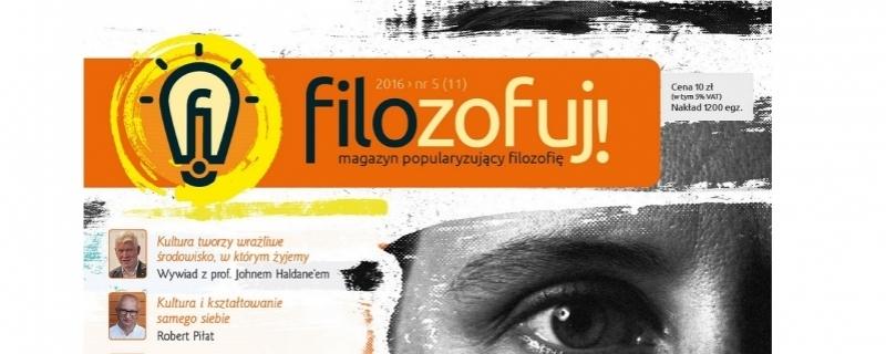 Magazyn Filozofuj! finalistą w XII edycji konkursu Popularyzator Nauki