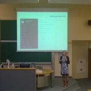 Prezentacja poświęcona gamifikacji w ramach Forum Współpracy Akademickiej