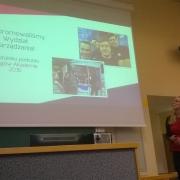 Prezentacja studenckiego koła naukowego Wydziału Zarządzania
